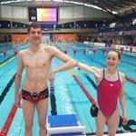 Image for the Tweet beginning: Nos 2 nageurs sont prêts