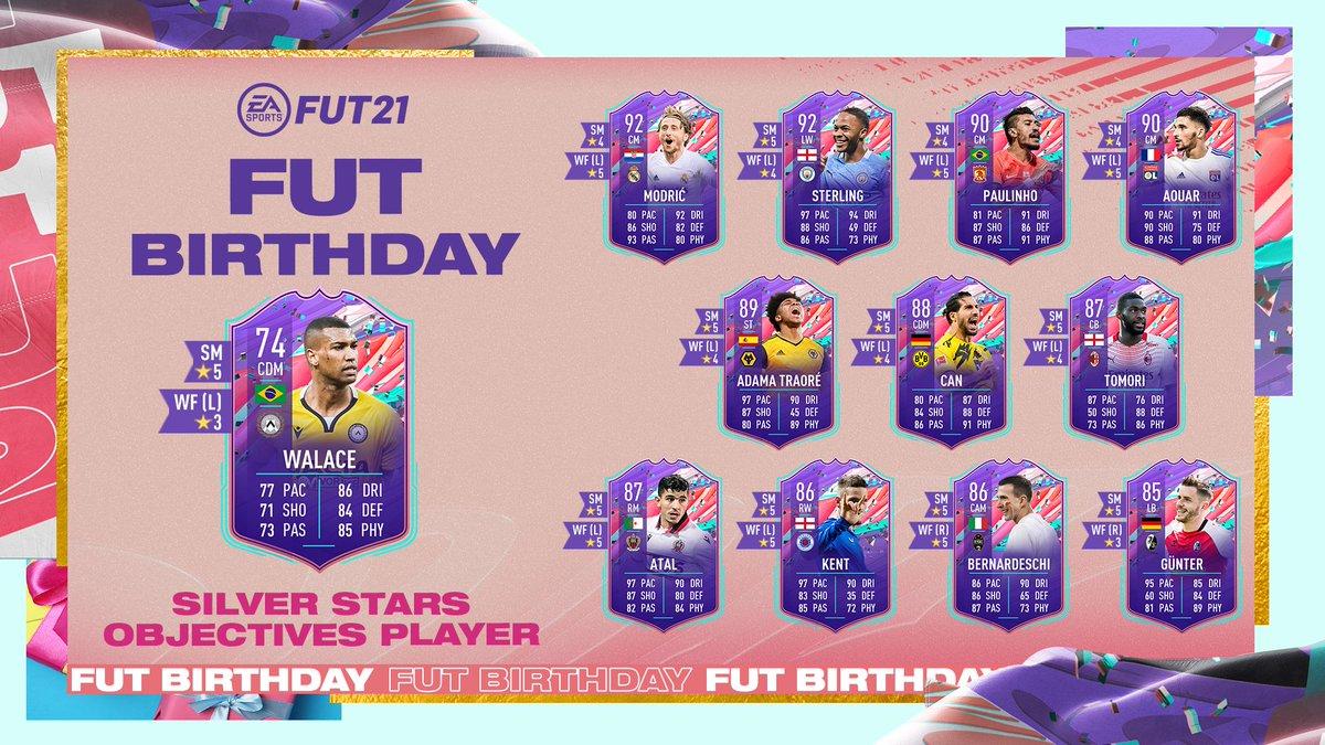Um artilheiro 5️⃣ estrelas.   Os Objetivos de jogador Estrelas de Plata já estão disponíveis para desbloquear no #FUT.  #FIFA21
