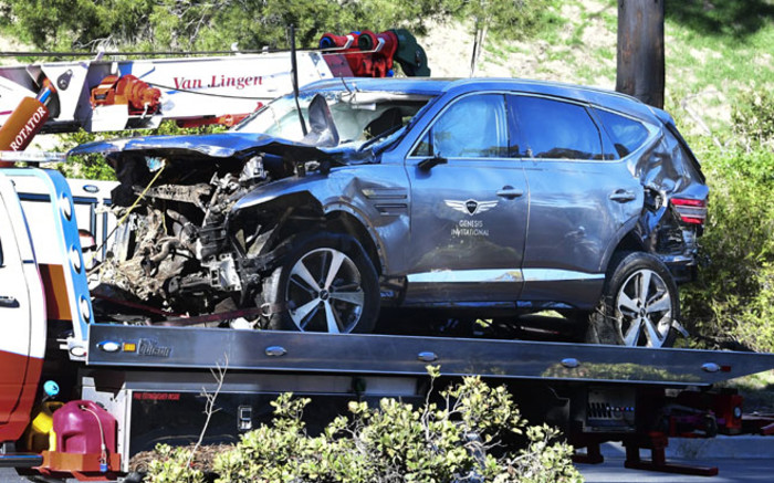 Tiger Woods crash due to 'unsafe' driving speed up to 87 mph sheriff