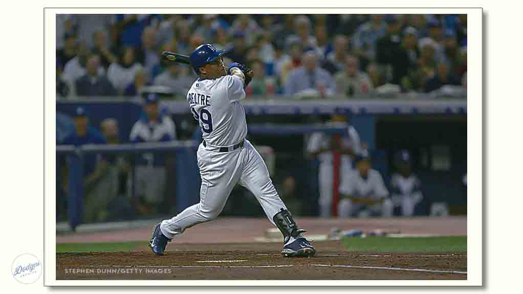 Happy Birthday to 2004 NL West champion and 7-year 3B Adrián Beltré:   Born April 7, 1979!