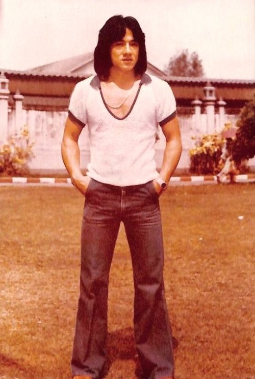 Happy birthday menswear style icon jackie chan a legend from top to toe