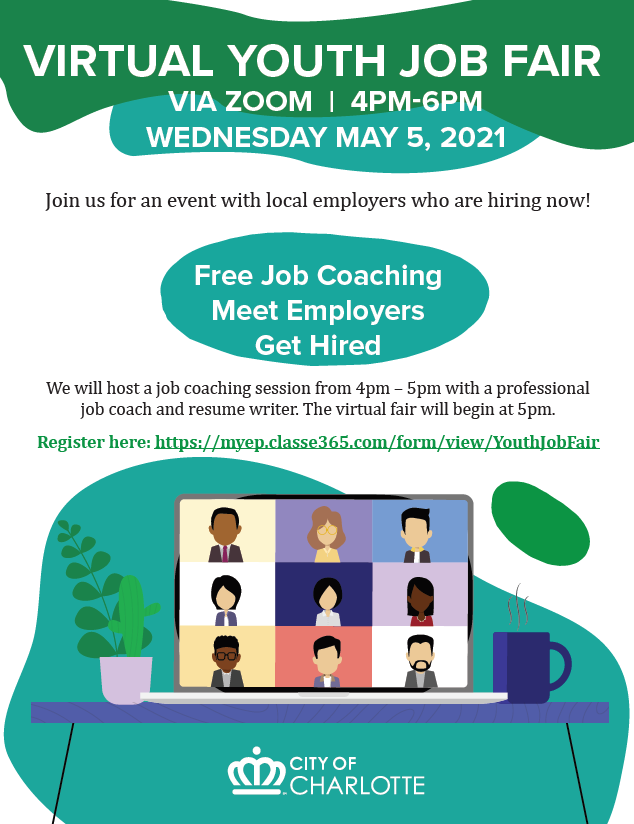ICYMI, we're hosting a virtual youth job fair on May 5! Receive free job coaching & meet local employers who are hiring now. Details below! https://t.co/Au4L4GDW9Y