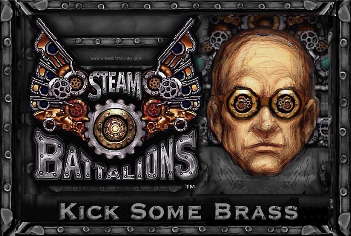 @RowellPublish Hi! We're the Uncle & Nephew designers of @SteamBattalions - the acclaimed #steampunk battling #cardgame for everyone! Customize, upgrade, attack & KICK BRASS! https://t.co/SKbcLJdJqS