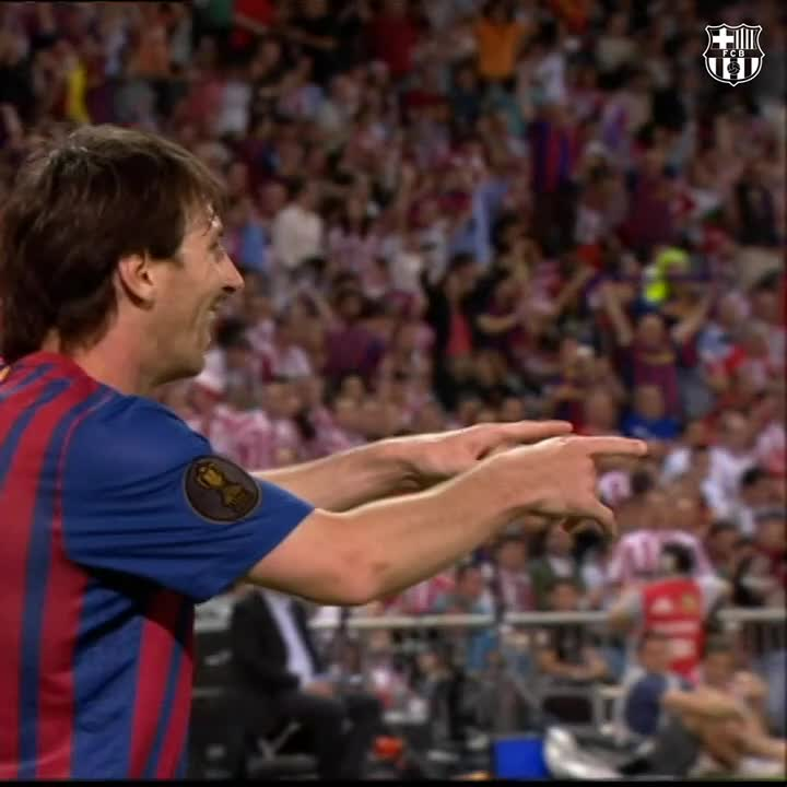 G⚽️AL OF THE DAY  2️⃣ more daaaays! 🐐 #Messi 🔙 2012 https://t.co/3N9xNIchEm
