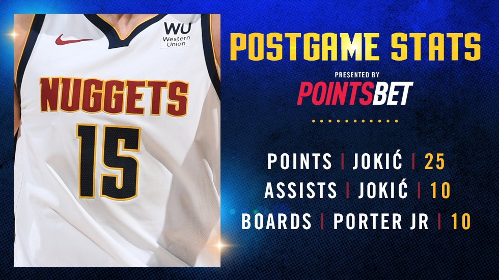 Some final numbers 📊  #MileHighBasketball https://t.co/dNsT4wTtgN