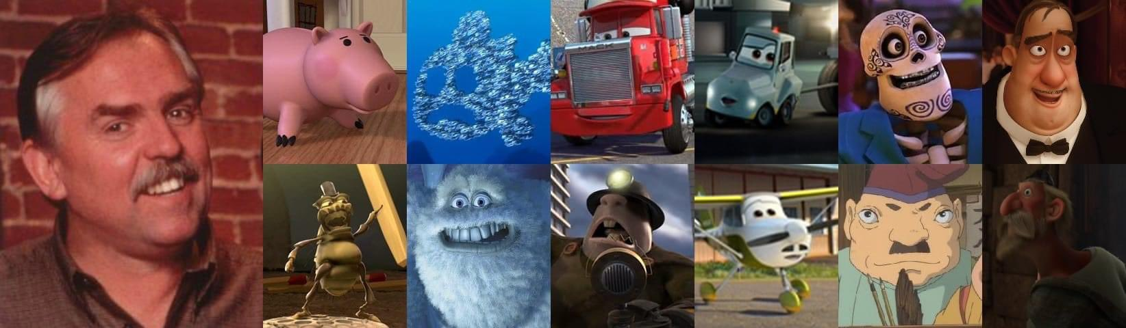 Happy belated birthday to Pixar voice favorite John Ratzenberger