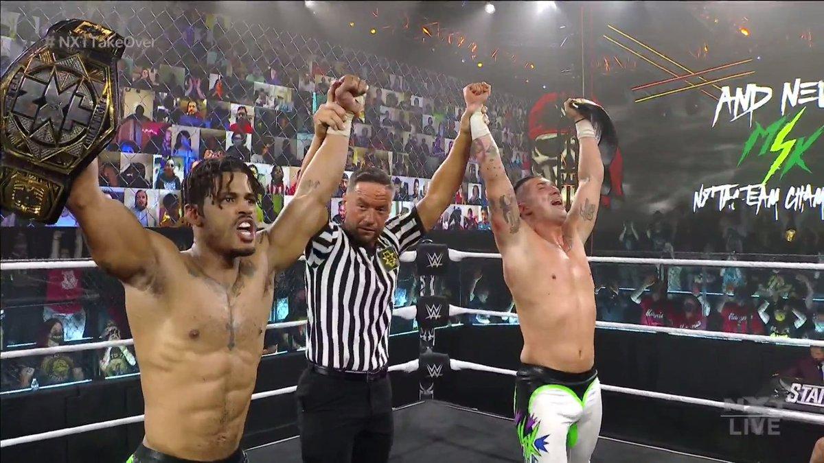 MSK Wins NXT Tag Team Titles