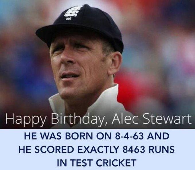 Happy Birthday, Alec Stewart