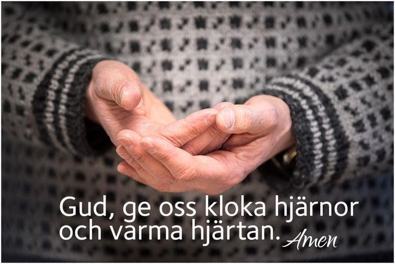 RT @svenskakyrkan: Gud, ge oss kloka hjärnor och varma hjärtan! 🧠💗 #svenskakyrkan #stängnässtift https://t.co/KH3VgbXgTd