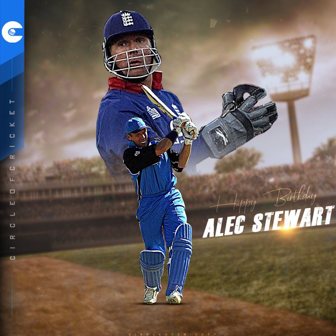 In the top five of England\s leading run-getters in Test and ODI cricket.  Happy Birthday, Alec Stewart