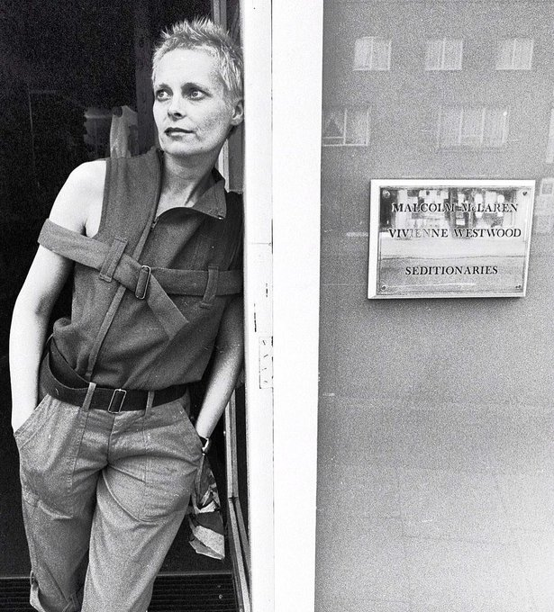 Happy birthday, cabra.  [Vivienne Westwood by Richard Young, 1978]