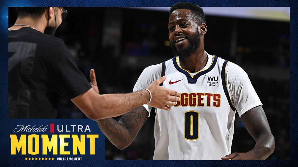 Good morning, Nuggets nation  Woke up thinking about how we've won 7 games in a row, what about you?  #ULTRAmoment x #MileHighBasketball https://t.co/qBJguyHypm