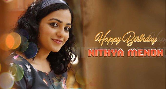 Happy Birthday - Nithya Menen.