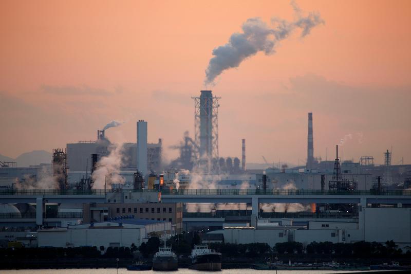 Japan looks to raise 2030 emissions cut target to at least 40% - Kyodo https://t.co/gNlR5h5J62 https://t.co/BT5VyiKusC