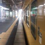 Image for the Tweet beginning: 今日は久しぶりに天理教栄楽分教会の月次祭に参拝してきました。コロナの影響でなかなか参拝できなかったので大変よかったです。今は山科駅から新快速と普通に乗り継いで相生駅までやってきました。これから山陽本線の普通に乗って岡山駅まで帰ります。