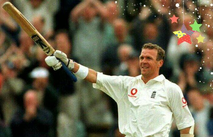 13,140 international runs 19 centuries 422 catches & 29 stumpings   Happy Birthday, Alec Stewart!