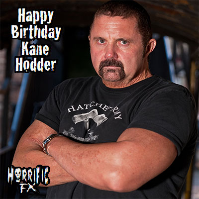 Happy birthday to the iconic horror actor Kane Hodder who was born on this day in 1955!!