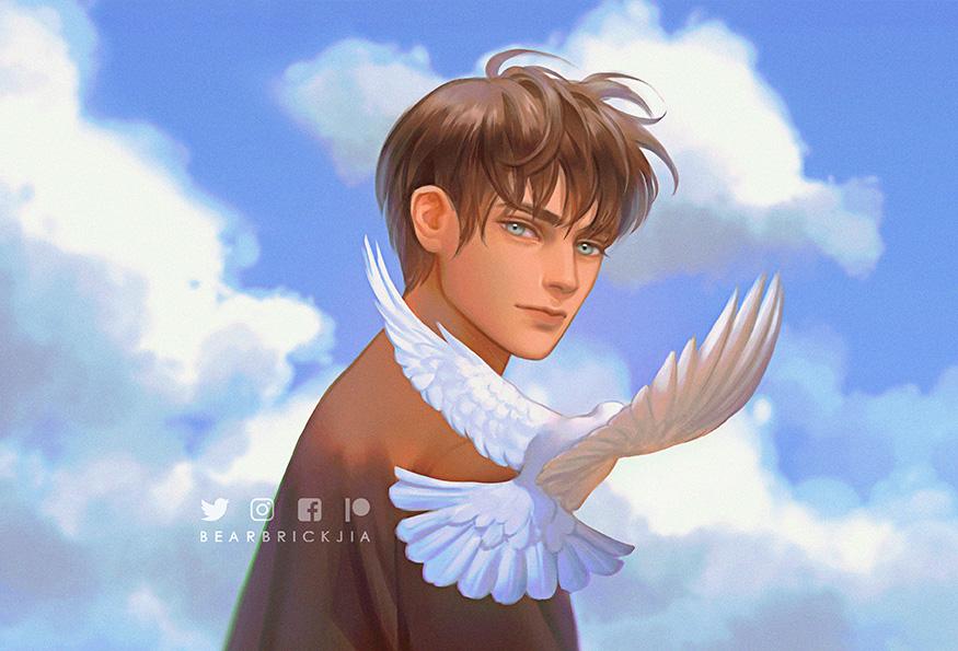 RT @Bearbrickjia: To the boy who sought freedom... Goodbye. #ThankYouIsayama https://t.co/CaR3B08b01
