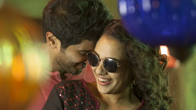 Happy birthday to nithya menen <3 loved her always with dulquer salmaan