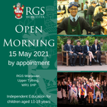 Image for the Tweet beginning: 📣 RGS Worcester would like