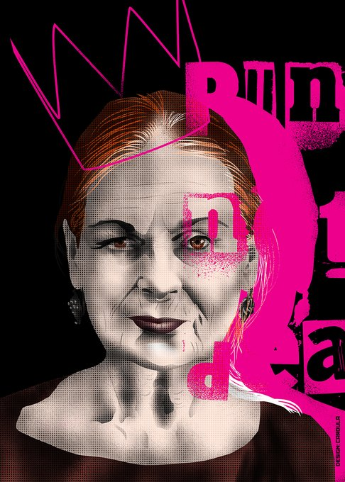 Happy Birthday the grand dame of punk rock, British fashion designer Dame Vivienne Westwood!