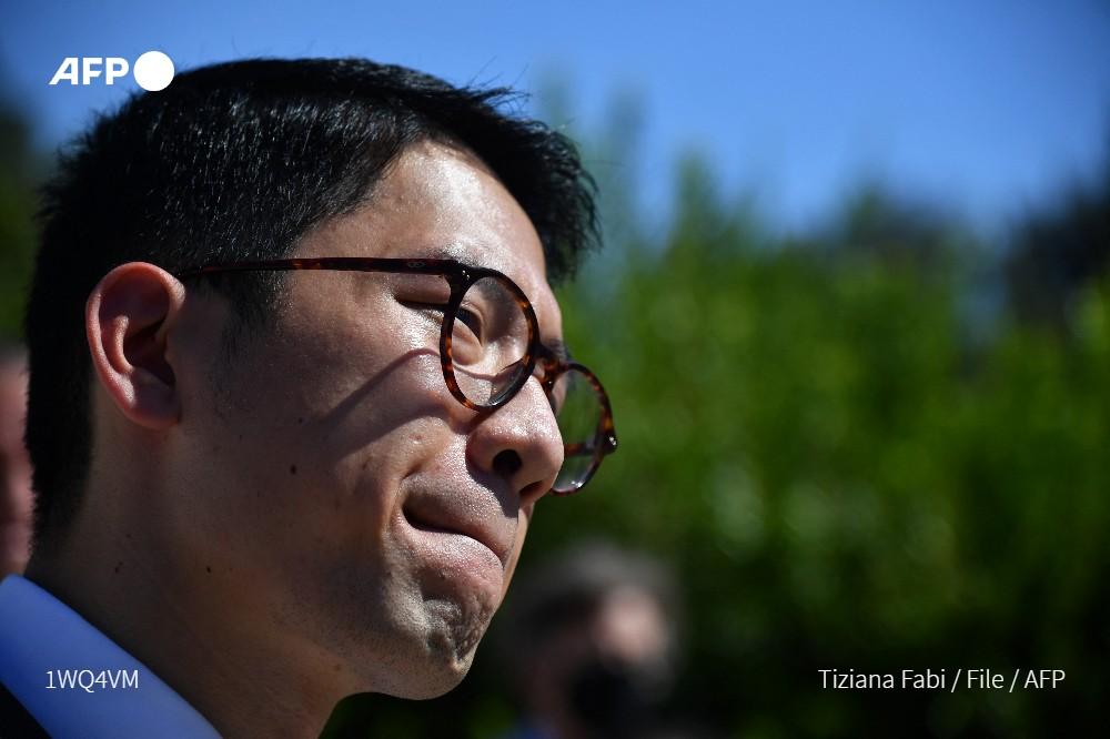 China blasts UK for granting asylum to Hong Kong activist Nathan Law Photo