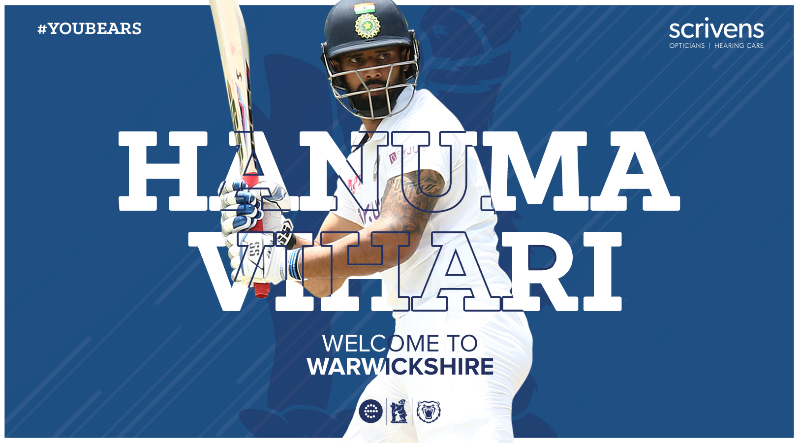 Indias Vihari really excited by Warwickshire chance Photo