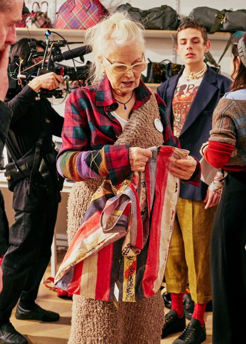 Happy birthday to our hero vivienne westwood!!!