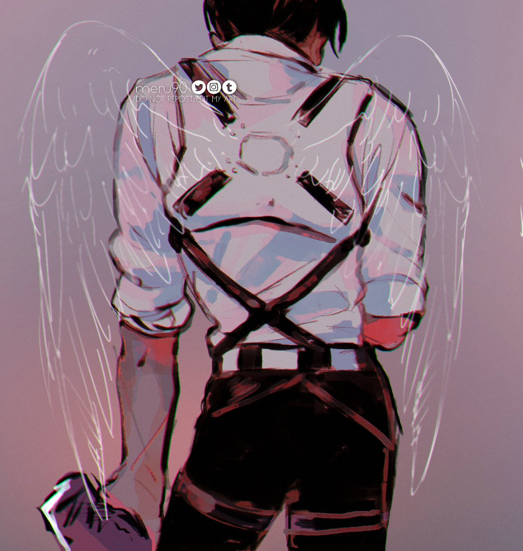 RT @meru90: i am so glad my man levi got his well deserved retirement (#snk139spoilers ?)#AttackOnTitan #snk https://t.co/SmmfNYkBNS