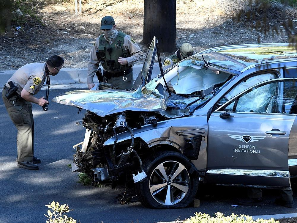 Excessive speed was primary cause of Tiger Woods car crash L.A. County Sheriff