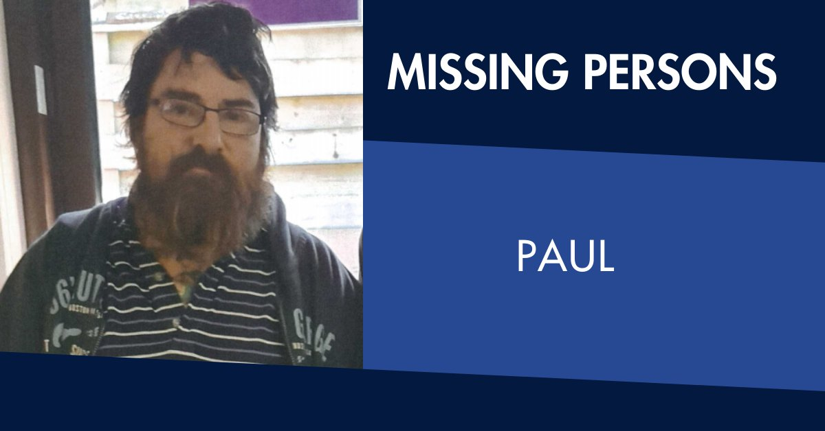 Paul is missing. The 48-year-old was last seen in Black Hill on 6 April. Anyone with information contact Ballarat Police Station on 5336 6000. https://t.co/1RZKCLCdip