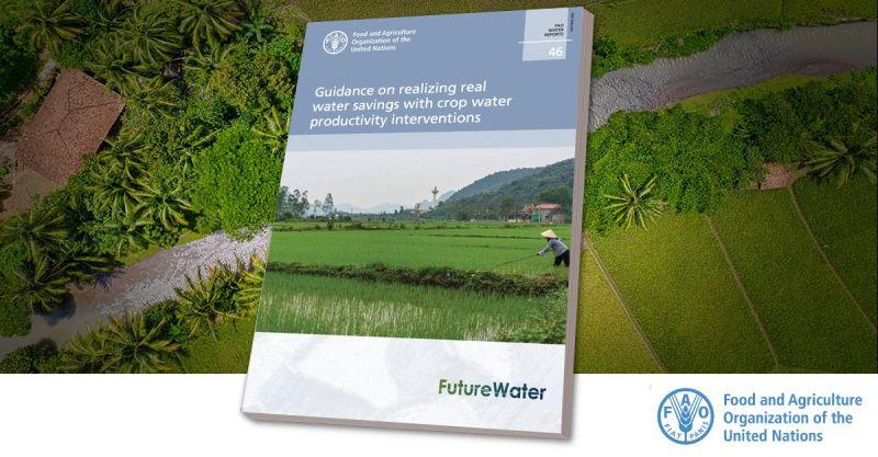 "📘Check out @FAO's latest report on #water for practical guidelines on how to implement 'real' water savings in #agriculture.  A distinction is made between real water savings & ""apparent"" water savings.   https://t.co/E1313Ztm5O  @FutureWaterNL"