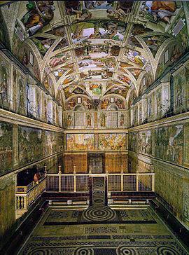 #TalDíaComoHoy, 8 de abril del año 1994, después de 13 años de restauración, Juan Pablo II reinaugura la Capilla Sixtina  #Efemerides #Historia #CapillaSixtina