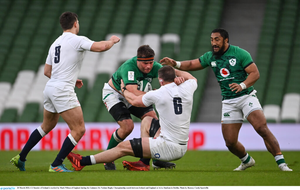 CJ Stander and Tadhg Beirne named in Six Nations Team of the Tournament