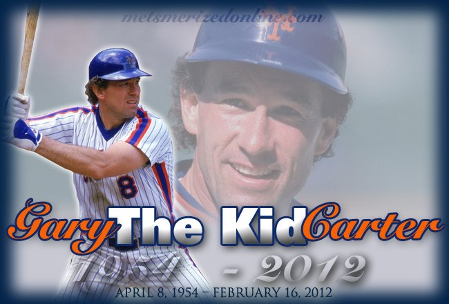 Happy Birthday in Heaven, Gary Carter.  We love you and miss you.