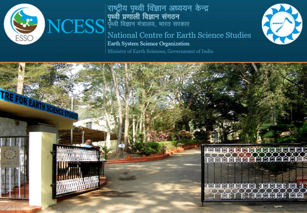Project Scientist B Position at National Centre for Earth Science Studies, Thiruvananthapuram, Kerala
