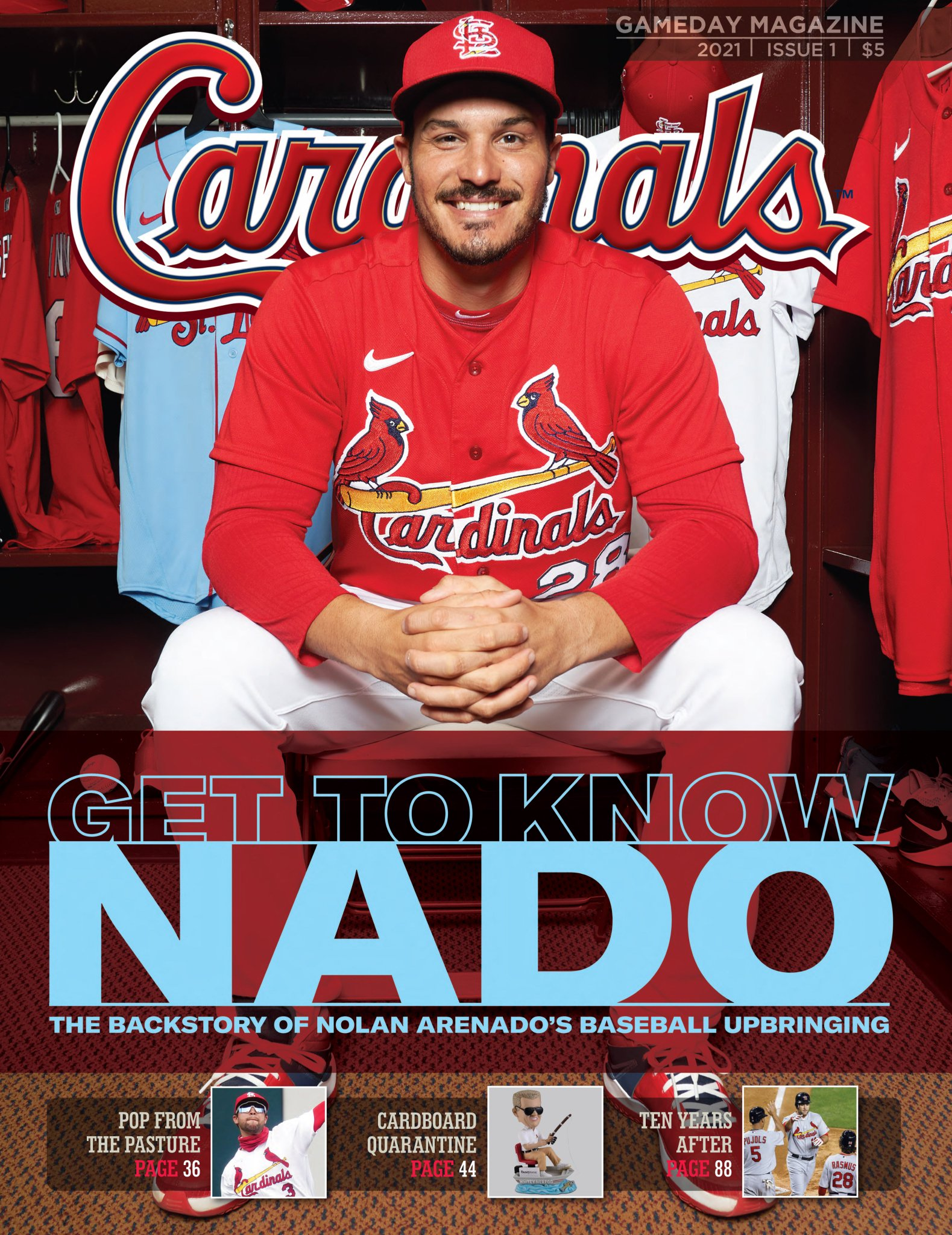 "Cardinals Magazine on Twitter: ""This guy! Get it at the ballpark and  https://t.co/73MsQZOdVo #OpeningDaySTL #STLCards… """