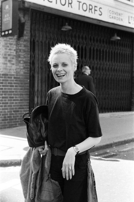 Happy Birthday to the Queen of punk Vivienne Westwood