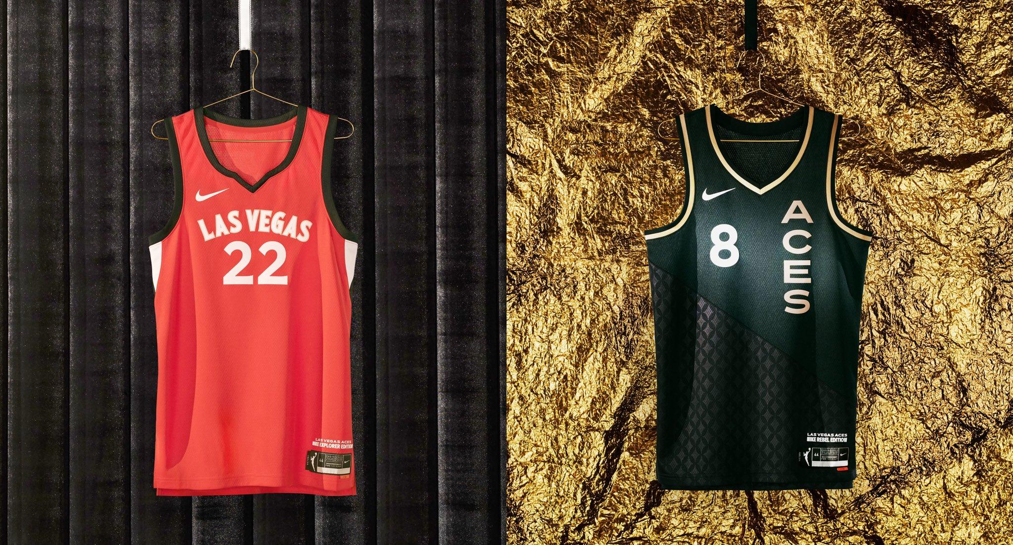 Las Vegas Aces jerseys