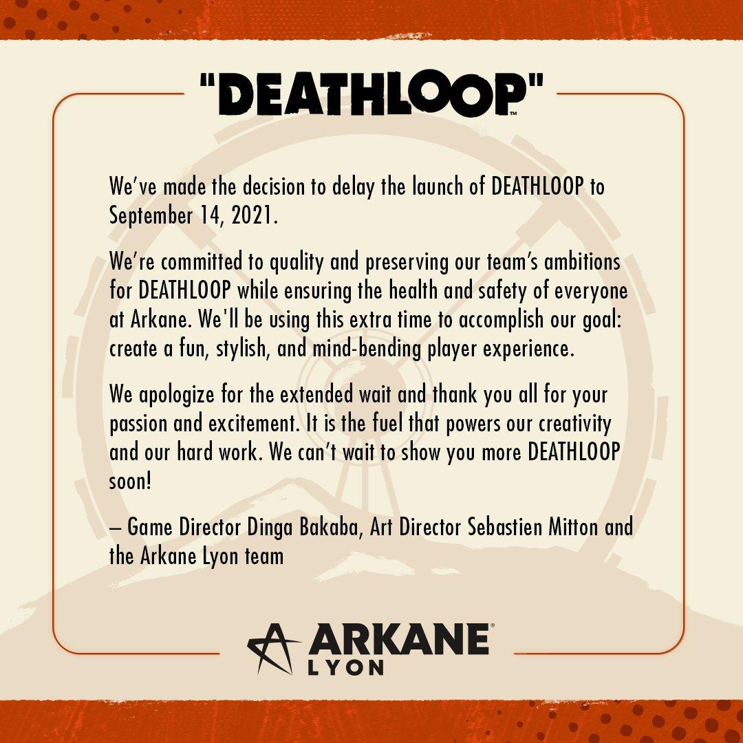 @deathloop's photo on Deathloop