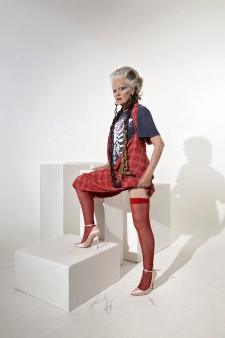 Vivienne Westwood for ever cool Happy Birthday