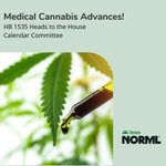 Image for the Tweet beginning: Medical #Cannabis advances! #HB1535 was