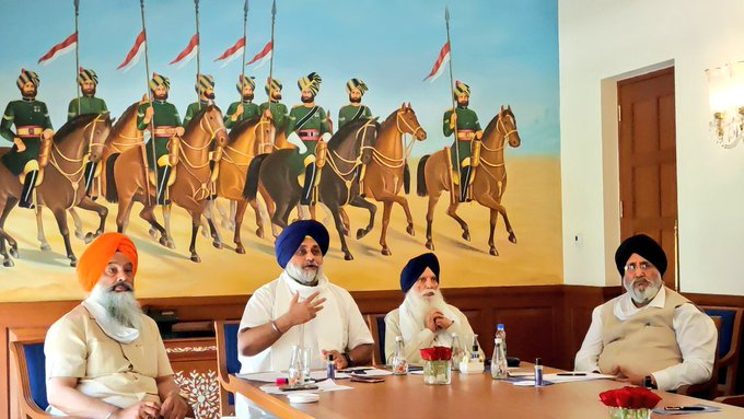 Shiromani Akali Dal President Sukhbir Singh Badal requested museum be established in Delhi to showcase sacrifice of Sri Guru Tegh Bahadur Ji.