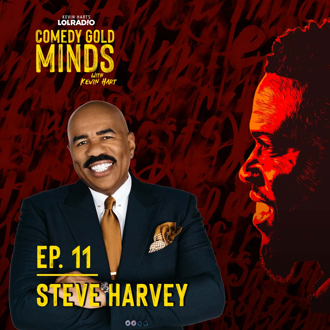 From #Verzuz to this new episode of #ComedyGoldMinds, @IAmSteveHarvey is everywhere. 🌎🤯Click the link to hear @KevinHart4real ask Steve how he's done it all. 👉🏾 https://t.co/yeThwzmEKA https://t.co/Z4TzYe1By5