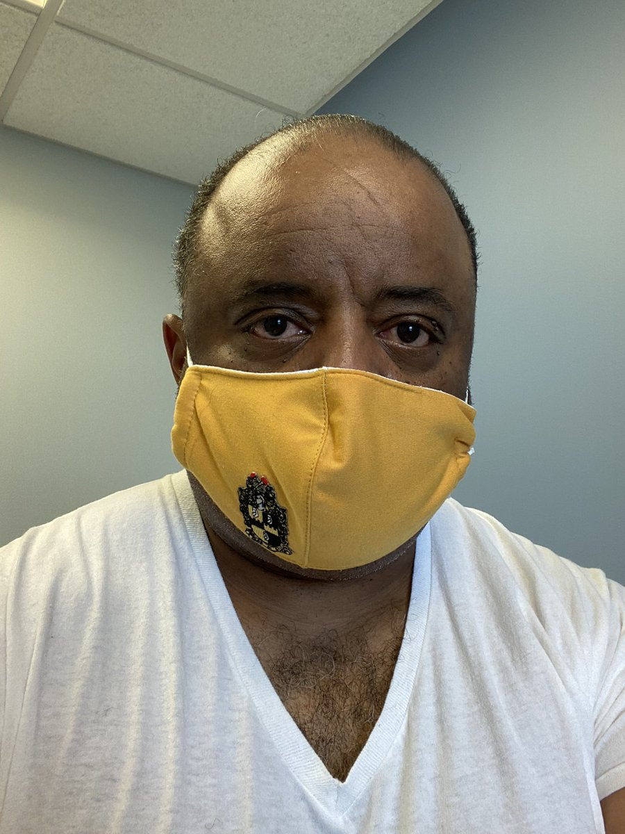 Brothers! Get your annual physical and checkup. Doing my blood work and getting the colonoscopy referral. I want every brother to text five others to encourage them to do this. Be well!! https://t.co/JhETGhwxQw