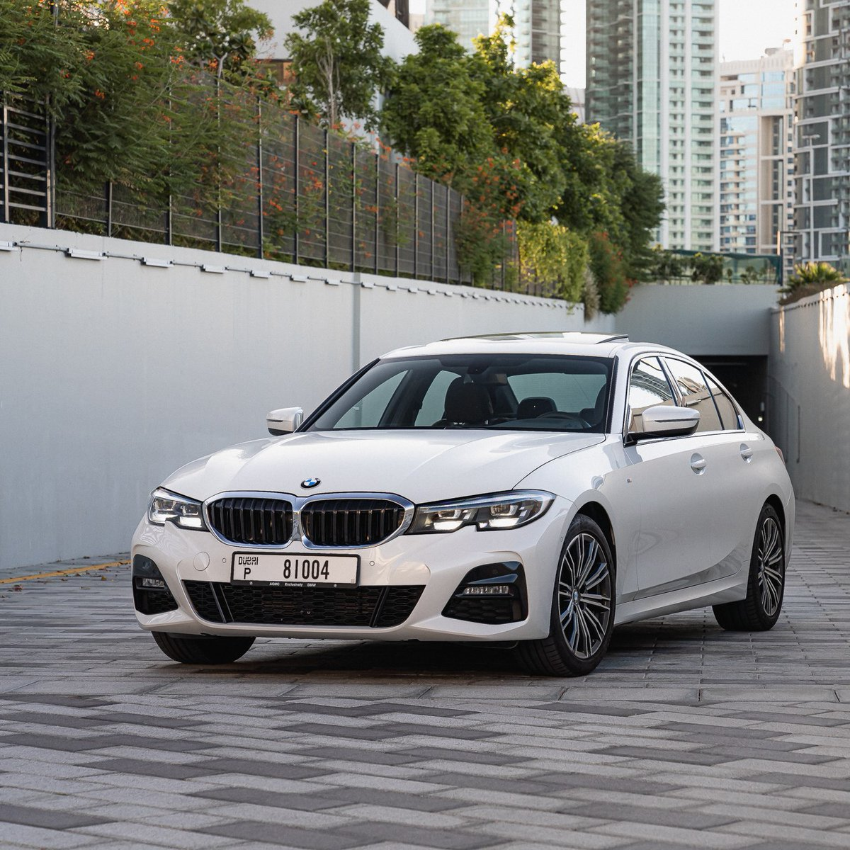 Discover the sporty character of The 3 first-hand. 🙌 Contact us to book your test drive.  #BMW3Series #BMWAGMC #BMW320i #BMW #mydubai #uae