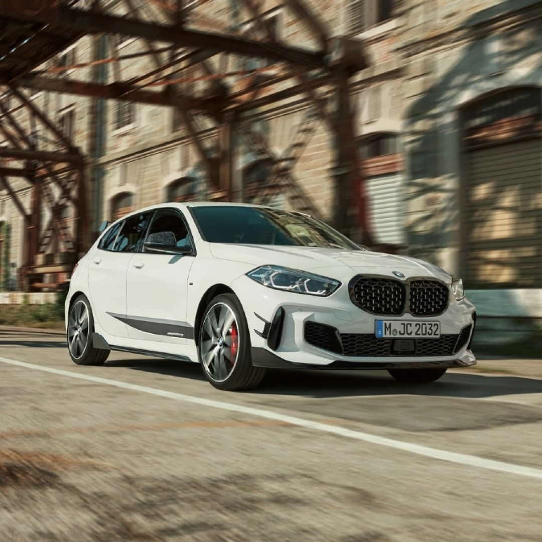 Hit the road with The 1.  #BMW1Series #BMWAGMC #BMW