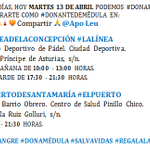 Image for the Tweet beginning: MARTES 13 DE ABRIL PUEDE