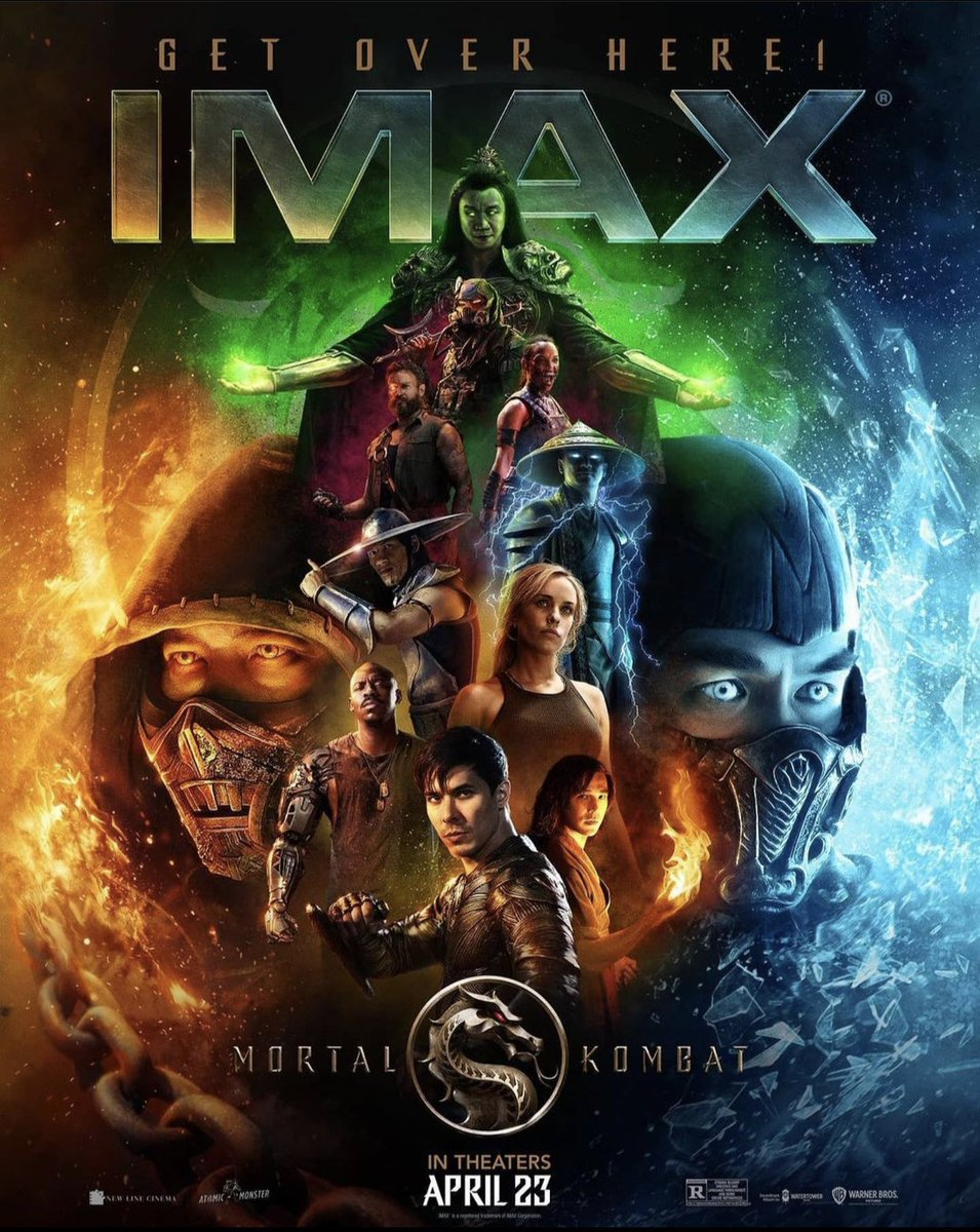 We can confirm that #MortalKombatMovie is indeed EPIC in IMAX theatres.