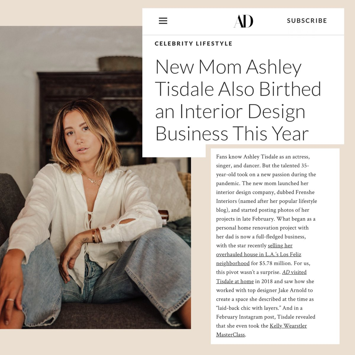 Got asked to be interviewed by @ArchDigest on my new endeavor #FrensheInteriors. WILD!! Link below if you wanna check it out!
